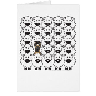 Belgian Malinois in the Sheep Cards