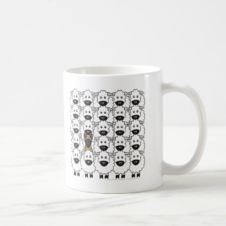 Belgian Malinois in the Sheep Coffee Mug