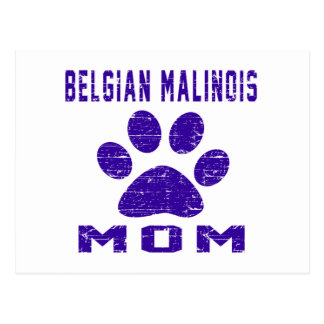 Belgian Malinois Mom Gifts Designs Postcards