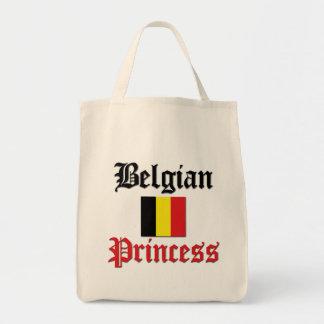 Belgian Princess Grocery Tote Bag