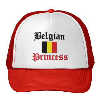 Belgian Princess Trucker Hats