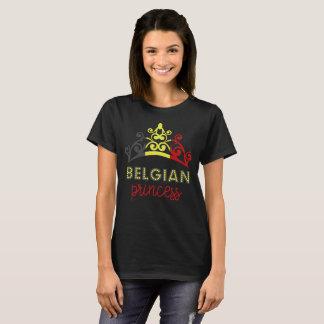 Belgian Princess Tiara National Flag T-Shirt
