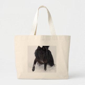 Belgian Sheepdog Canvas Bag