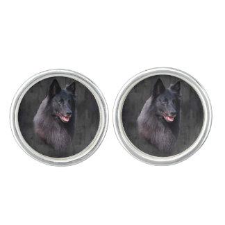 Belgian Sheepdog Cuff Links
