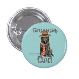Belgian Sheepdog Dad 3 Cm Round Badge