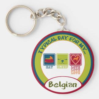 Belgian Sheepdog Key Chain