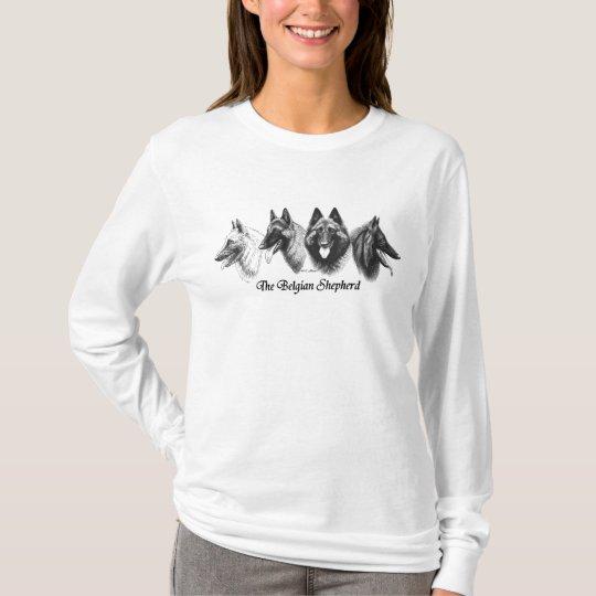 Belgian Sheepdog Tervuren Malinois Ladies Shirt