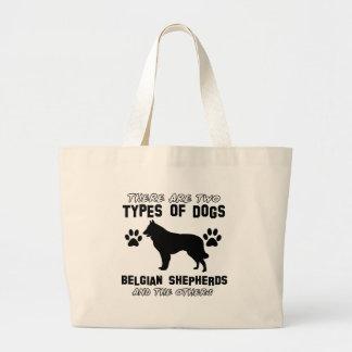 belgian shepherd gift items canvas bags
