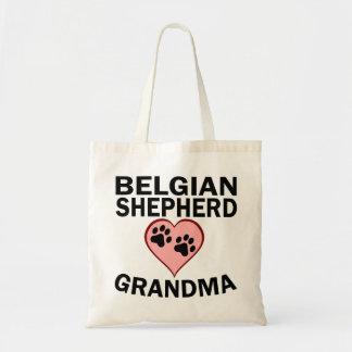 Belgian Shepherd Grandma Budget Tote Bag