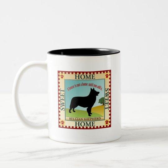 Belgian Shepherd Two-Tone Coffee Mug