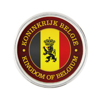 Belgian State Ensign Lapel Pin