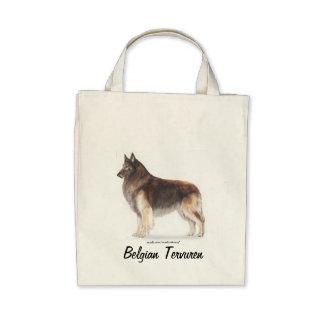 Belgian Tervuren Tote Bags