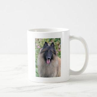 Belgian Tervuren Basic White Mug