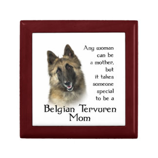 Belgian Tervuren Box Small Square Gift Box