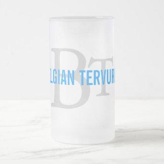 Belgian Tervuren Breed Monogram Coffee Mug