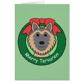 Belgian Tervuren Christmas Card
