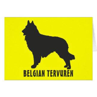 Belgian Tervuren Greeting Card