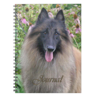 Belgian Tervuren Journal Notebook