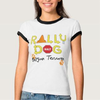 Belgian Tervuren Rally Dog T-Shirt