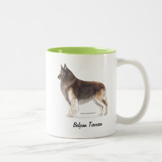 Belgian Tervuren Two-Tone Coffee Mug