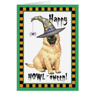 Belgian Tervuren Witch Card