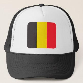 Belgian three colour of Belgium cap
