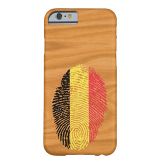 Belgian touch fingerprint flag barely there iPhone 6 case