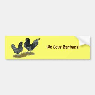 Belgian Watermaal Bantams Bumper Sticker