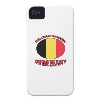 belgian women designs Case-Mate iPhone 4 case