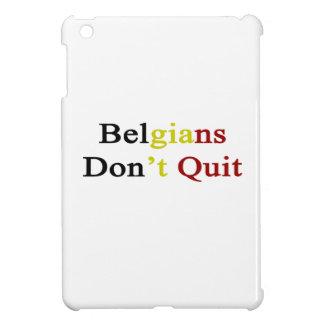 Belgians Don t Quit iPad Mini Covers
