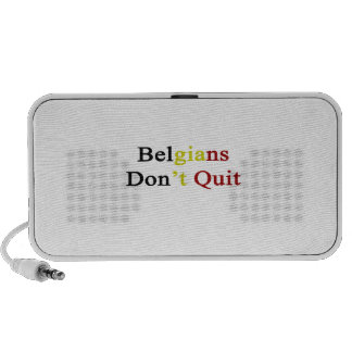 Belgians Don t Quit Notebook Speaker