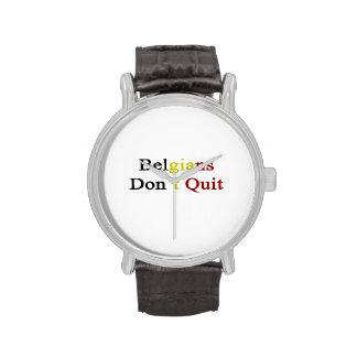 Belgians Don t Quit Wristwatch