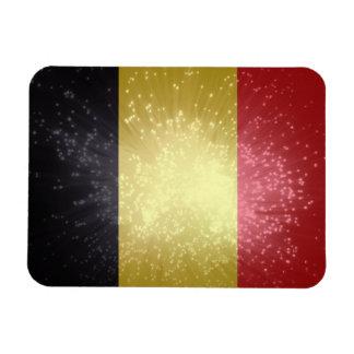 België; Belgium Flag Rectangular Photo Magnet