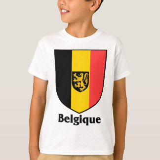 Belgique Crest / Belgium Flag T-Shirt
