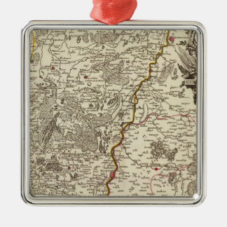 Belgium 2 christmas ornament