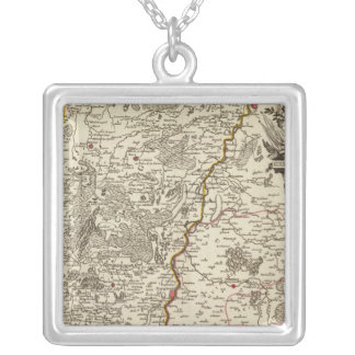 Belgium 2 silver plated necklace
