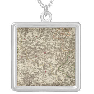 Belgium 5 silver plated necklace