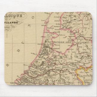 Belgium and Holland, 1812 Mouse Mat