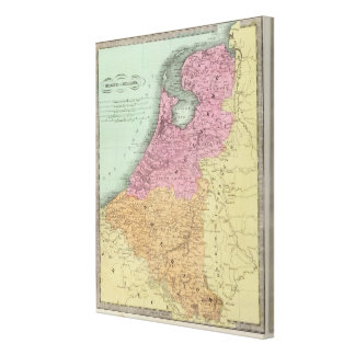 Belgium And Holland Canvas Print
