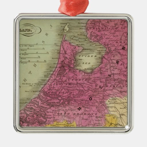 Belgium And Holland Christmas Tree Ornament