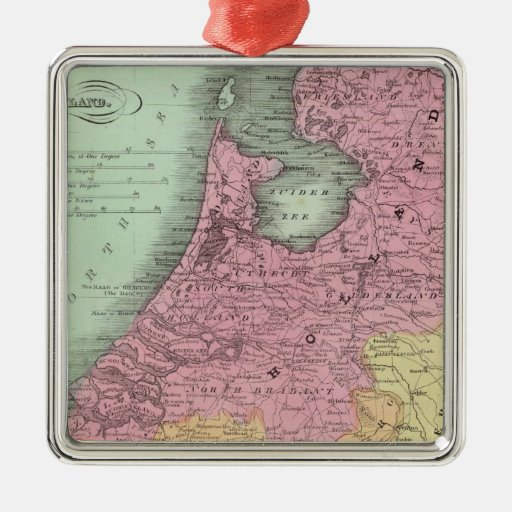 Belgium And Holland Christmas Ornament