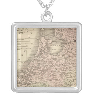 Belgium and Holland Silver Plated Necklace
