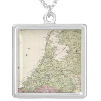 Belgium and Netherlands 2 Silver Plated Necklace