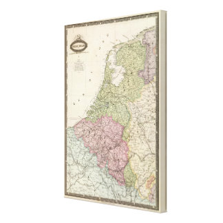Belgium and Netherlands Canvas Print