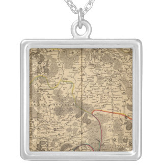 Belgium and Netherlands Silver Plated Necklace