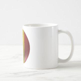 Belgium ball basic white mug