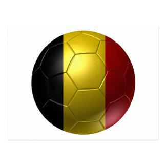 Belgium ball postcard