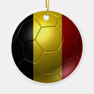 Belgium ball round ceramic decoration