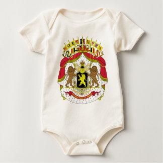 Belgium BE Baby Bodysuit