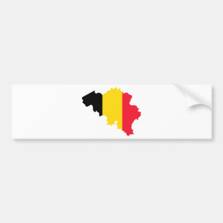 Belgium BE Bumper Sticker